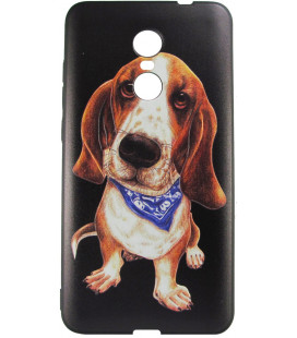 Силикон Xiaomi Redmi Note4X 3D Dog black 001