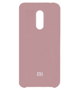 Силикон Xiaomi Redmi5 Plus light violet Soft Touch