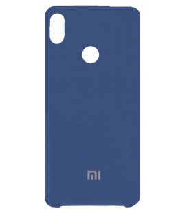 Силикон Xiaomi Redmi Note5/5Pro blue Soft Touch