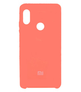 Силикон Xiaomi Redmi Note5/5Pro peach Soft Touch