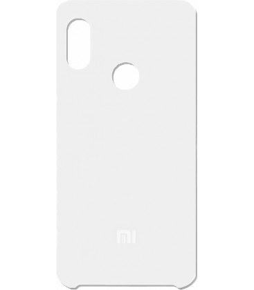 Силикон Xiaomi Redmi Note5/5Pro white Soft Touch