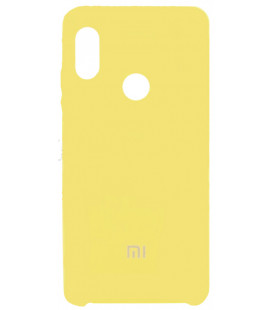 Силикон Xiaomi Redmi Note5/5Pro yellow Soft Touch