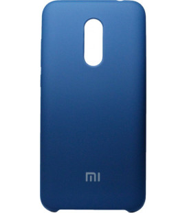 Накладка Xiaomi Redmi5 Plus blue Soft Case