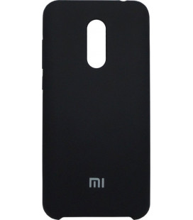 Накладка Xiaomi Redmi5 Plus black Soft Case