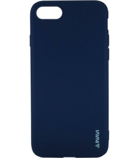 Силикон iPhone 7/8 dark blue Inavi