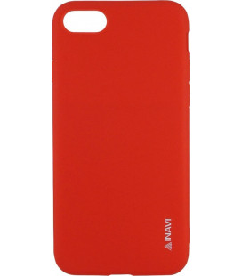 Силикон iPhone 7/8 red Inavi