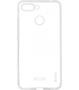 Силикон Xiaomi Redmi6 white 0.7mm Inavi