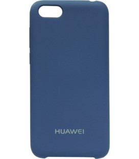 Накладка Huawei Y5 (2018) blue Soft Case