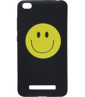 Силикон Xiaomi Redmi4A 3D Smile black