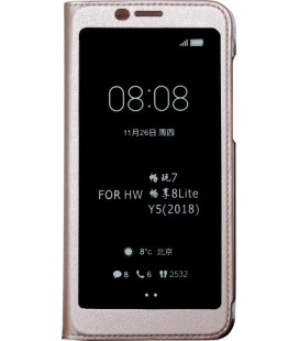 Чехол-книжка Huawei Y5 (2018) pink Window Full