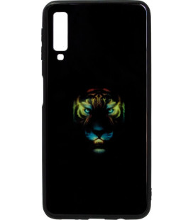 Накладка SA A750/A7 (2018) black Tiger Luminous