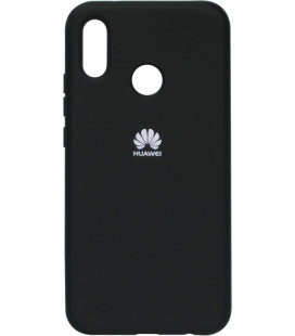 Накладка Huawei P20 Lite/Honor8X black Soft Case