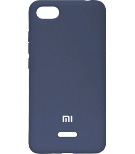 Накладка Xiaomi Redmi6A dark blue Soft Case