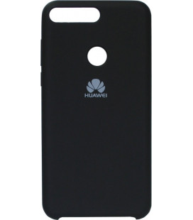Накладка Huawei Y7 Prime (2018) black Soft Case