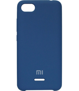 Накладка Xiaomi Redmi6A blue Soft Case