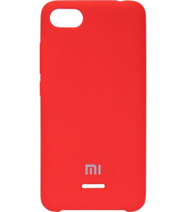 Накладка Xiaomi Redmi6A red Soft Case