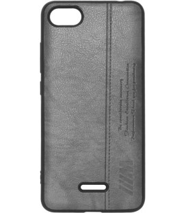 Силикон Xiaomi Redmi6A black BMW Leather