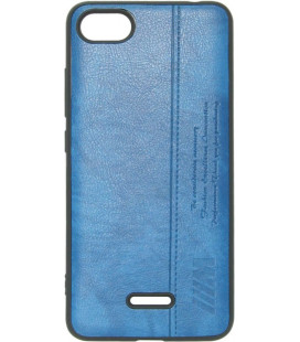 Силикон Xiaomi Redmi6A blue BMW Leather