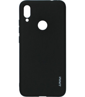 Силикон Xiaomi Redmi Note7 black Inavi