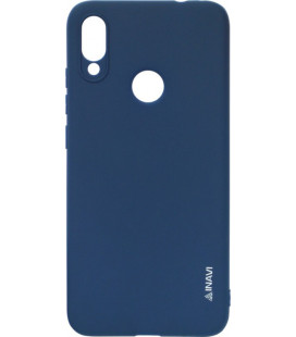 Силикон Xiaomi Redmi Note7 dark blue Inavi