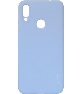 Силикон Xiaomi Redmi Note7 light violet Inavi