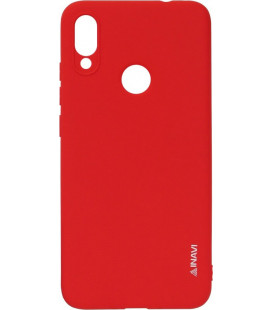 Силикон Xiaomi Redmi Note7 red Inavi