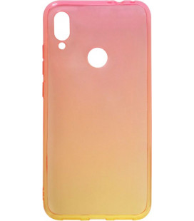 Силикон Xiaomi Redmi Note7 red/yellow Gradient