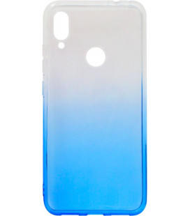 Силикон Xiaomi Redmi Note7 white/blue Gradient