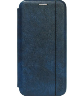 Чехол-книжка Xiaomi Redmi6A blue Leather Gelius
