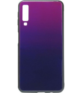 Накладка SA A750/A7 (2018) blue/violet Glass