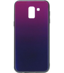 Накладка SA J600 blue/violet Glass