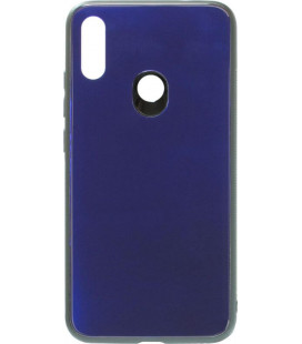 Накладка Xiaomi Redmi Note7 blue Glass