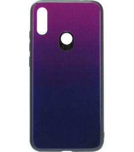 Накладка Xiaomi Redmi Note7 blue/violet Glass