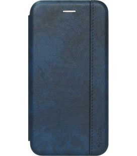Чехол-книжка Xiaomi Redmi Note7 blue Leather Gelius