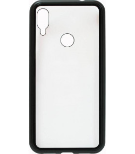 Накладка Xiaomi Redmi Note7 black bamper Metall Magnetic Case