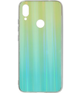 Накладка Xiaomi Redmi Note7 mint Chameleon Glass