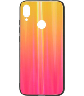 Накладка Xiaomi Redmi Note7 sunset red Chameleon Glass