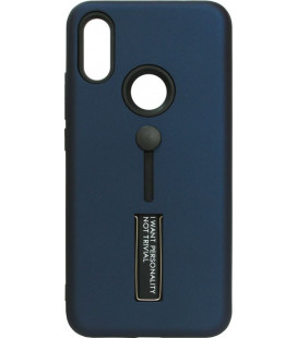 Накладка Xiaomi Redmi7 dark blue Hold Soft Touch