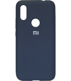 Накладка Xiaomi Redmi7 dark blue Soft Case