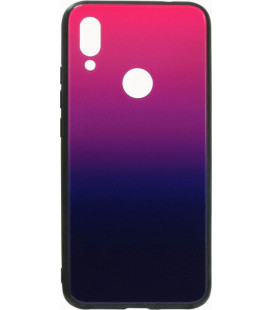 Накладка Xiaomi Redmi7 blue/violet Gradient Glass