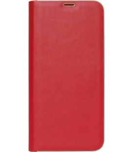 Чехол-книжка Xiaomi Redmi Note7 red leather Florence