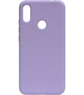 Силикон Xiaomi Redmi Note7 light violet Silicone Case