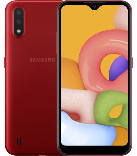 Samsung Galaxy A01 2/16GB Red (SM-A015FZRD) UA-UCRF Оф. гарантия 12 мес.