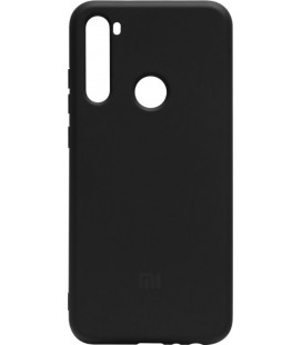 Силикон Xiaomi Redmi Note 8T black Silicone Case