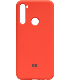 Силикон Xiaomi Redmi Note 8T orange Silicone Case