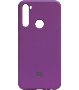 Силикон Xiaomi Redmi Note 8T purple Silicone Case