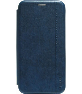 Чехол-книжка SA A01 dark blue Leather Gelius