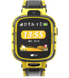 Smart Watch TD-26 Kids IP67 GPS/WiFi/камера black/yellow Гарантия 1 месяц