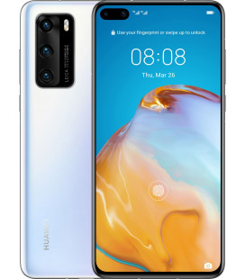 Huawei P40 8/128GB Ice White UA-UCRF Офиц. гар. 12 мес.