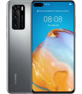 Huawei P40 8/128GB Silver Frost UA-UCRF Офиц. гар. 12 мес. + ПАКЕТ АКСЕССУАРОВ*